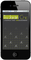 Application iPhone JardinChic